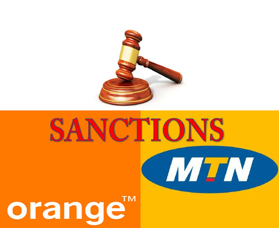l'ART cameroun inflige une sanction à Orange et MTN