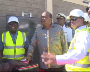 Le Président Urhu Kenyatta