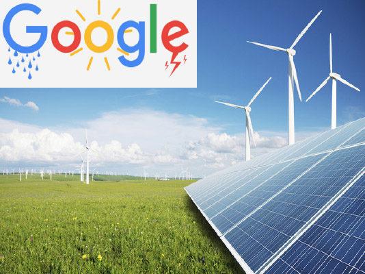 Google : décide d'investir dans les énergies renouvelables