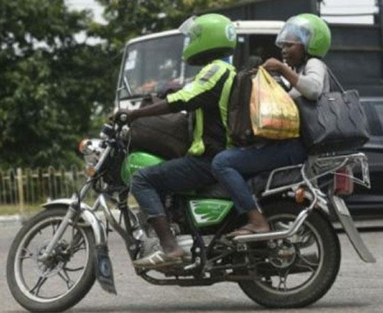 Nigeria: des applications mobiles de taxi-moto pour échapper aux embouteillages
