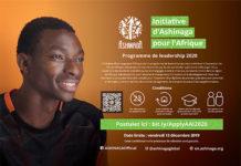 Formation : Candidature à l'Initiative d'Ashinaga pour l'Afrique