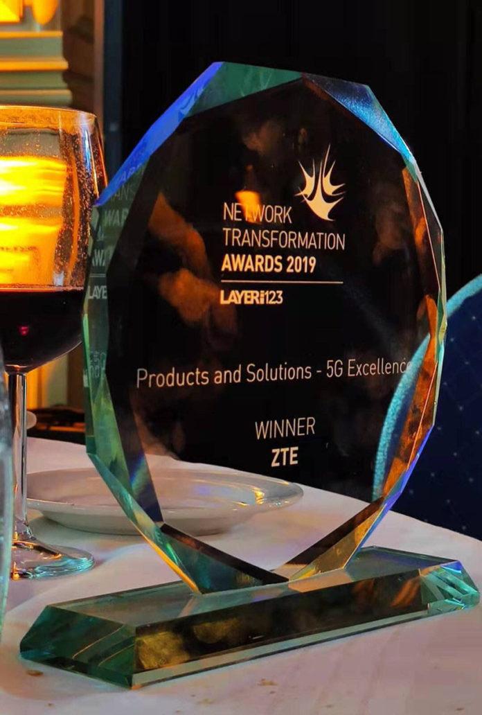 5G : ZTE remporte le prix d'excellence au congrès mondial SDN/NFV