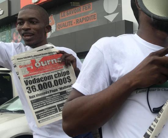 RDC : mobilisation contre la cherté des services de télécoms