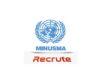 Offres d'emploi : la MINUSMA recrute AGENT DES SYSTÈMES D'INFORMATION