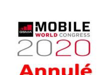 GSMA annonce l'annulation de l'organisation du salon MWC 2020