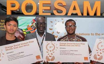 Prix Orange de L'Entrepreneur Social en Afrique Et Au Moyen-Orient, (POESAM) 2020