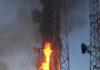 Hollande : des Pylônes de Télécoms vandalisés par des manifestants anti 5G