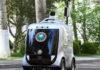 Une voiturefonctionnant grâce à la 5G pour lutter contre le COVID-19.