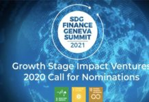 Le PNUD lance la 2e édition du Growth Stage Impact Ventures `GSIV` for Sustainable Development Goals