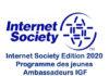 Formation: Internet Society édition 2020 du programme des jeunes Ambassadeurs IGF