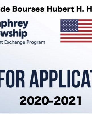 Programme de Bourses Hubert H. Humphrey 2020-2021