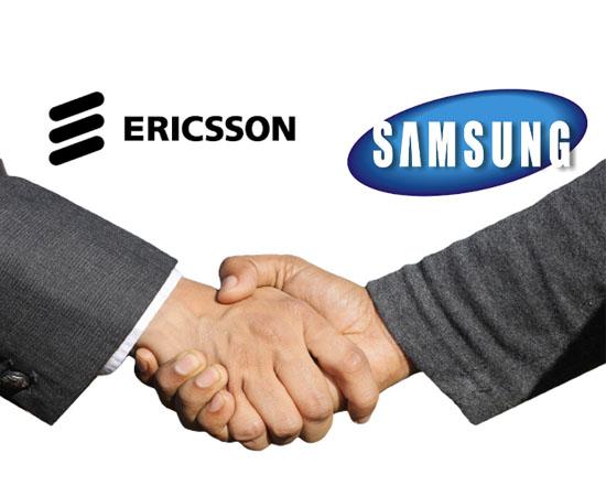 Ericsson et Samsung parviennent à un accord