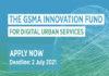 Start-Up : lancement du Fonds d'innovation de la GSMA pour les services urbains numériques