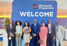 Mobile World Congress MWC21 : le Ministre Oumar Saïd Koulibaly en tête de la délégation Guinéenne.