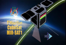 Maurice lance son premier satellite MIR-SAT1
