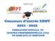 Communiqué : Concours d'entrée à l'ESMT 2021 - 2022