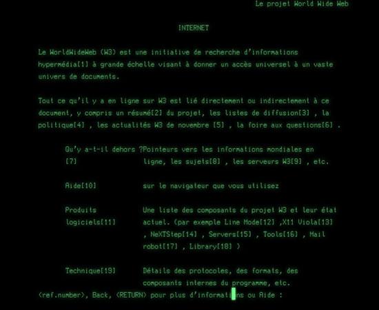 Le premier site internet fête ses 30 ans