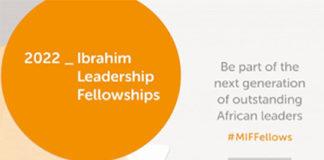 Programme de bourses 2022 de leadership de la Fondation MO Ibrahim, PCSC