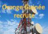 Offres d'emploi : Orange Guinée recrute un Ingénieur Plateforme d'Intégration (APl et API manager)